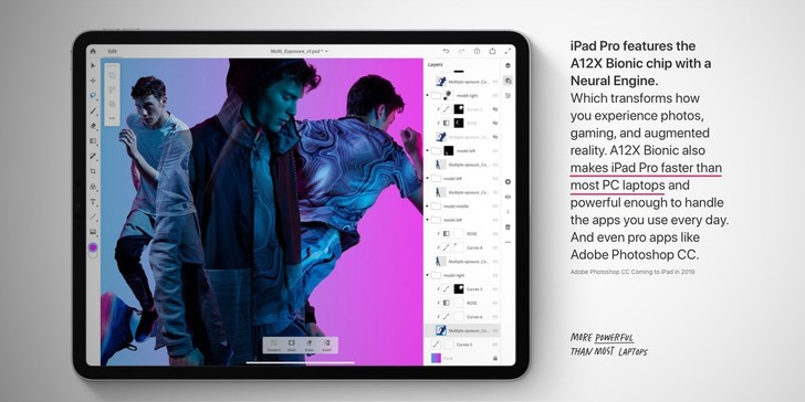 Фото №1 - Apple заявила, что новый iPad Pro быстрее, чем большинство ноутбуков. Так ли это?