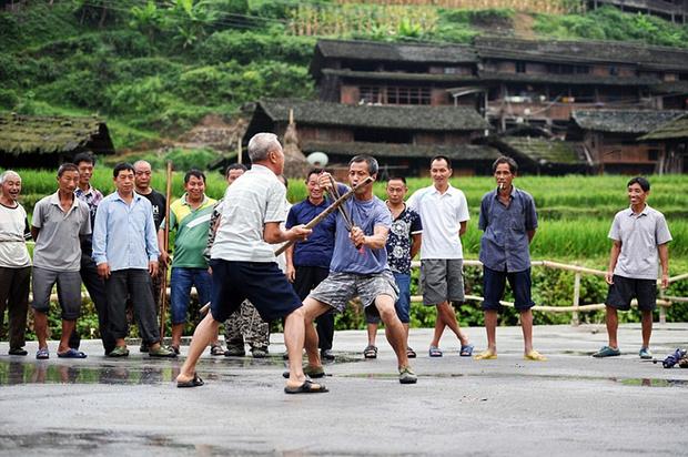 Фото №2 - Найдена деревня, в которой все жители владеют кунг-фу!