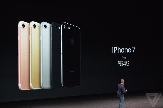 Цены на айфон 7