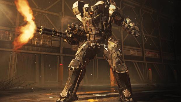 Фото №2 - Дежурство экзоскелетов. 5 причин ждать выхода новой игры Call of Duty: Advanced Warfare