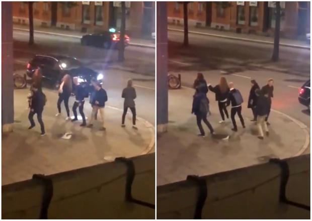 Фото №1 - Твит дня: случайное видео людей, танцующих под ABBA на шведской улице
