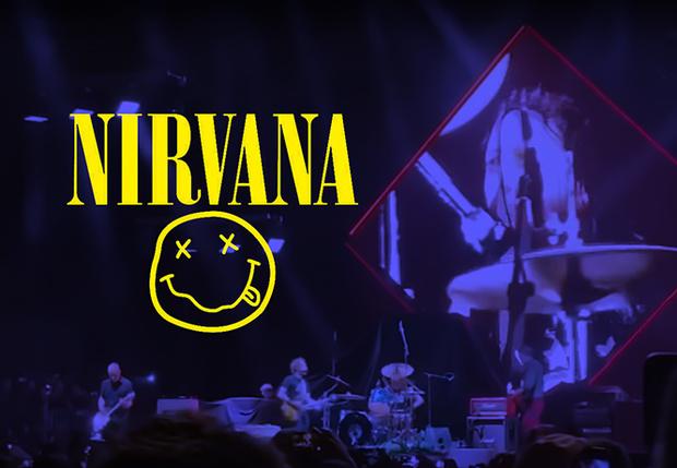 Фото №1 - Nirvana отыграла новый концерт. Кобейн не пришел (видео)