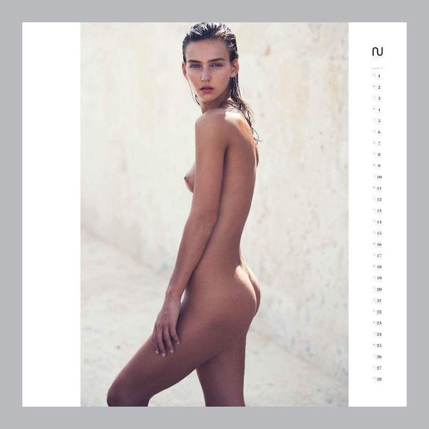 Фото №4 - Первые долгожданные кадры из эротического календаря Nu Muses!