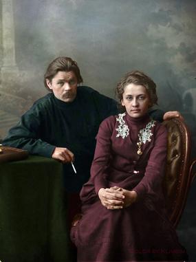 Фото №7 - Отретушированные Николай II, Маяковский, Ленин и другие твои старые знакомые. Такими ты их никогда не видел