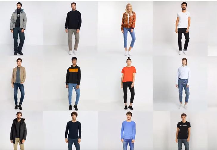 Фото №1 - Нейросеть создает настолько реалистичных моделей для показа одежды, что от живых людей не отличить (видео)