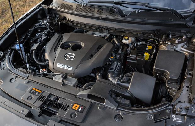 Фото №5 - Mazda CX-9 и полные легкие легкости