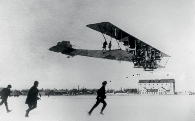 Илья Муромец набирает высоту