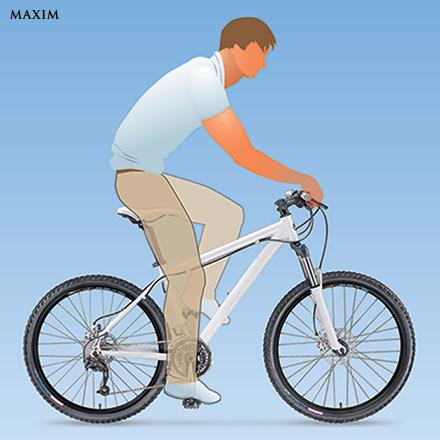Отрегулировать велосипед
