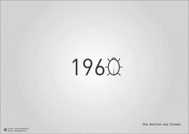 Фото №13 - Исторические даты в минималистичных иллюстрациях