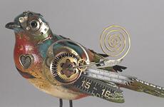 Стимпанк-птицы