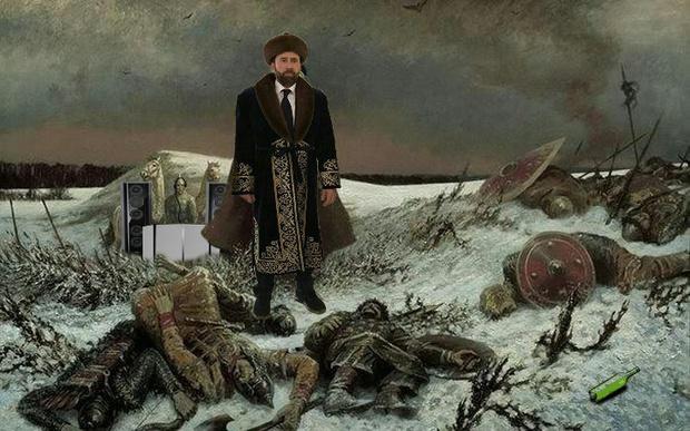 Фото №21 - Лучшие фотожабы на Николаса Кейджа в Казахстане