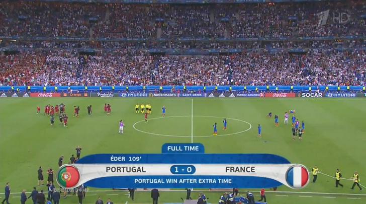 Португалия - чемпионы Европы
