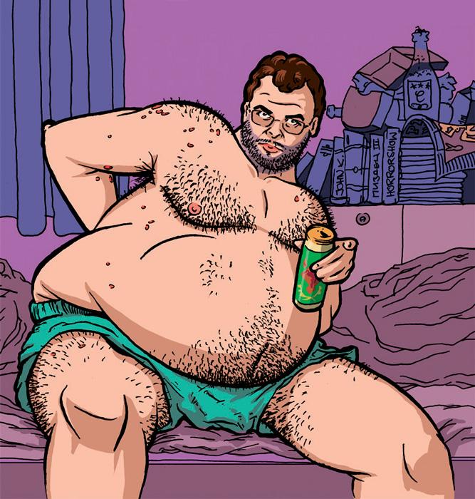 Фото №1 - Как нагулять жир к зиме