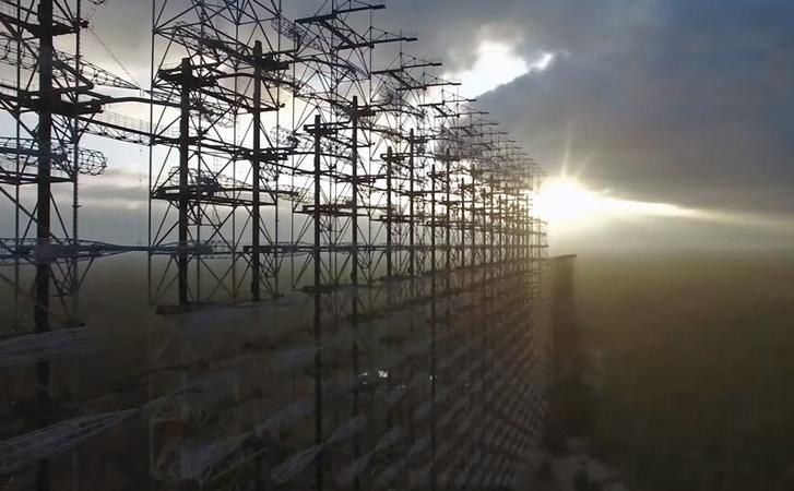 Фото №2 - Вид с воздуха на легендарную чернобыльскую «Дугу», и что это вообще такое