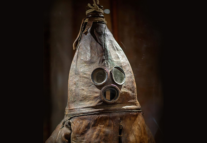 Фото №1 - Как выглядел водолазный костюм XVIII века