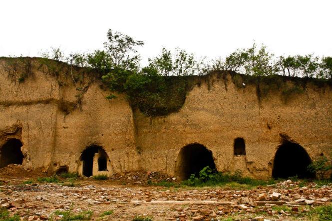 Лёссовые постройки, Шэньси