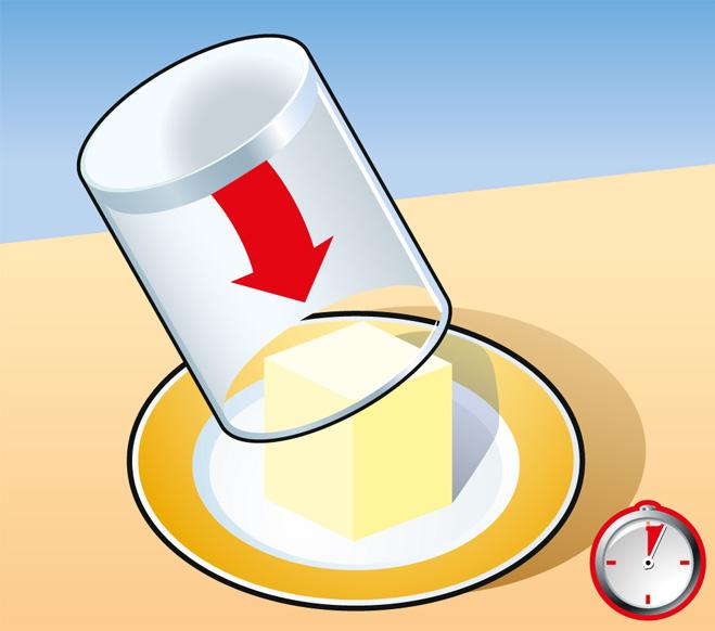 Фото №2 - Совет без слов: как быстро размягчить сливочное масло