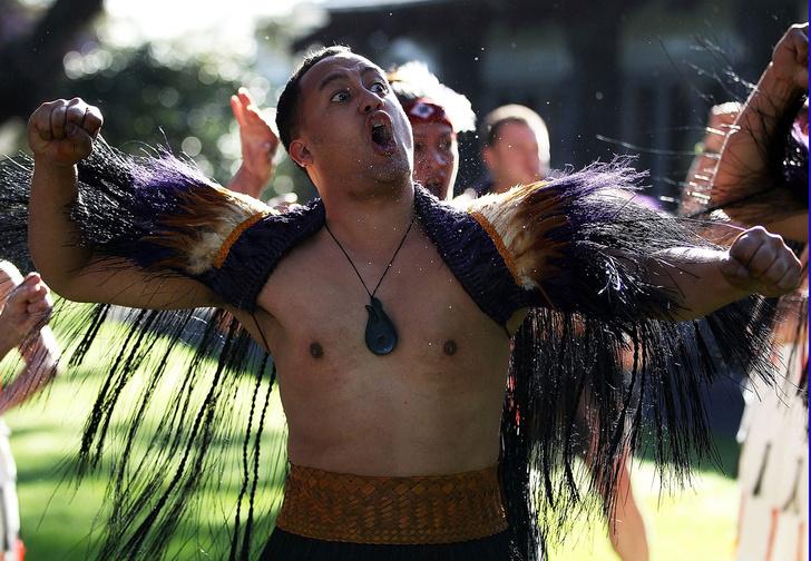 Хака - самый мужественный танец в мире