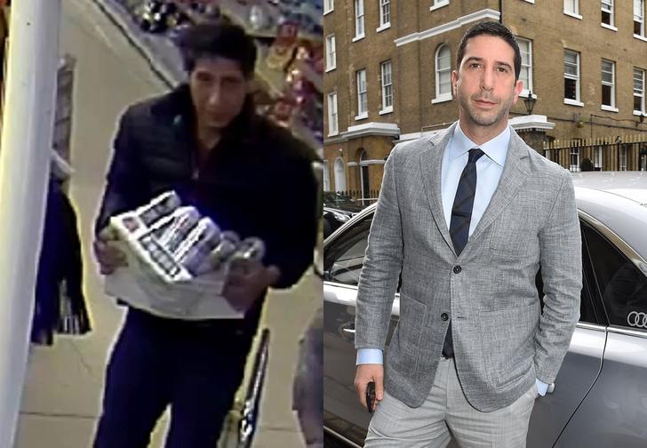 Фото №1 - Человек, похожий на Росса из «Друзей», украл ящик пива. Интернет отреагировал соответствующе