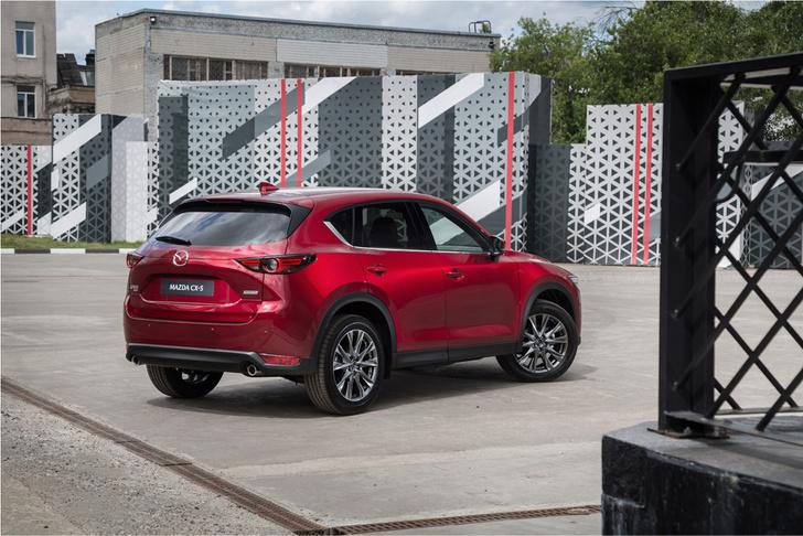 Фото №6 - Обновленная Mazda CX-5: четыре шажка к совершенству
