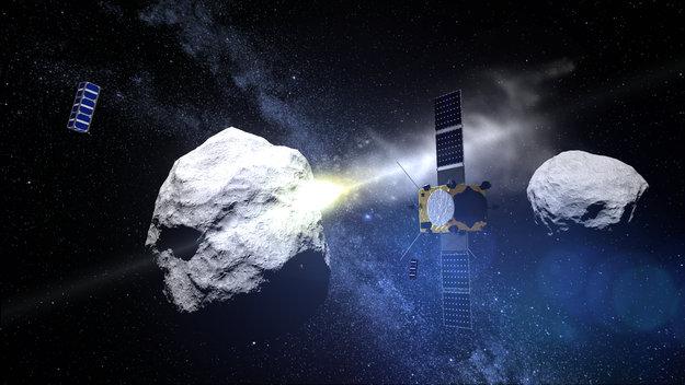 Фото №1 - SpaceX Илона Маска поручено сбить астероид