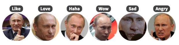 Фото №3 - Поменяй унылые лайки в «Фейсбуке» на Гомера Симпсона, Путина или на что сам захочешь!