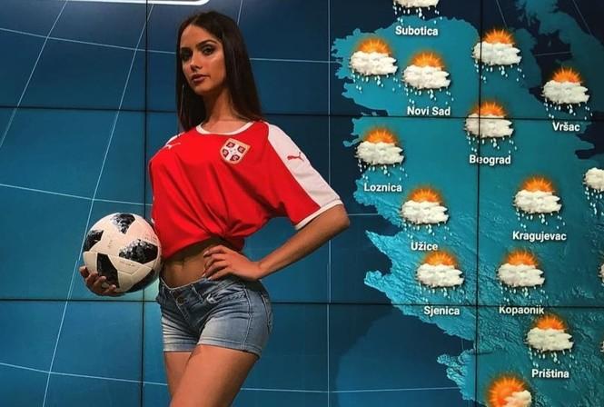 Фото №3 - Джоанна Крупа, самая горячая ведущая прогноза погоды и другие самые соблазнительные девушки недели