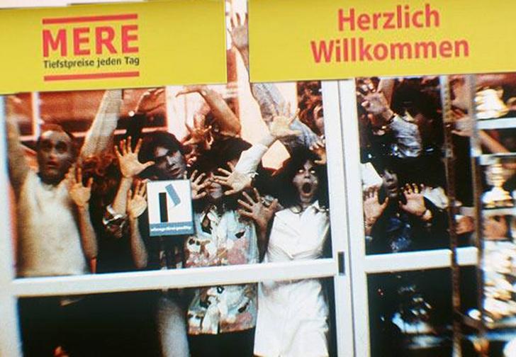 Фото №1 - Сибирский супермаркет в Лейпциге закрыли после того, как немецкие покупатели скупили все продукты и дрались у касс