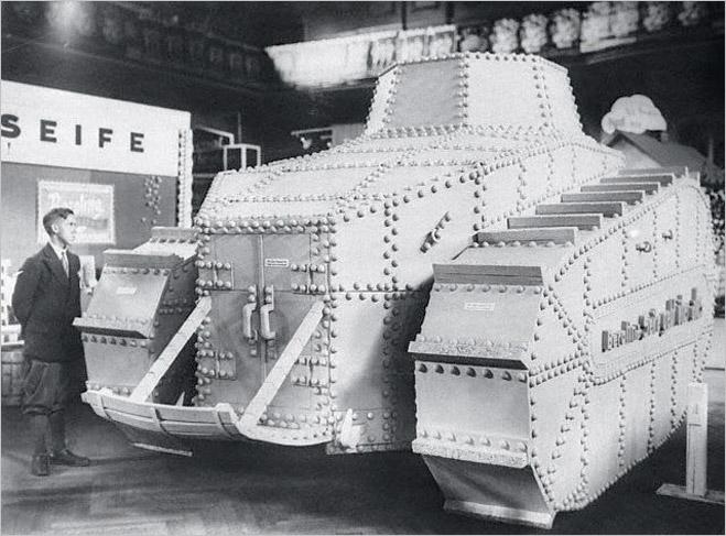 Фото №10 - Бесславные ублюдки: самые уродливые танки, созданные за всю историю вооружений
