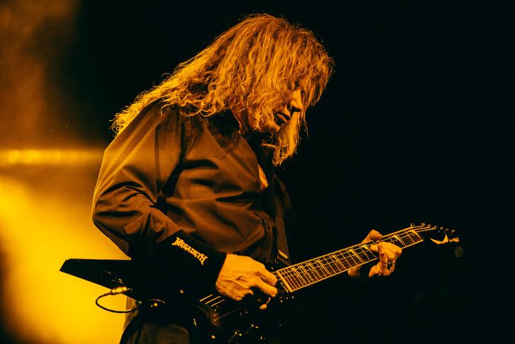 Фото №27 - Megadeth подняли температуру в Москве — посмотри и приобщись!