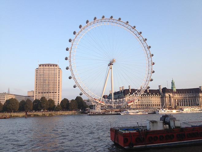 Лондонский глаз, Лондон