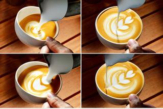 Как рисовать на кофе: две главные техники: легкая и посложнее