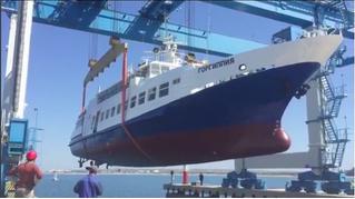 Как не надо спускать корабль на воду — ВИДЕОИНСТРУКЦИЯ из Анапы