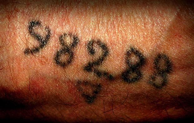 Анатомия татуировок Освенцима