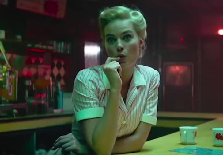 Фото №1 - Марго Робби в роли соблазнительной садистки в трейлере фильма «Конечная»