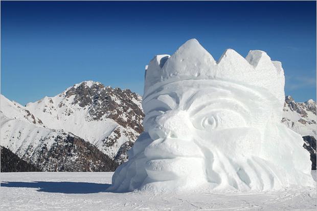 Фото №3 - 6 идей, которые помогут превратить снеговика в произведение искусства