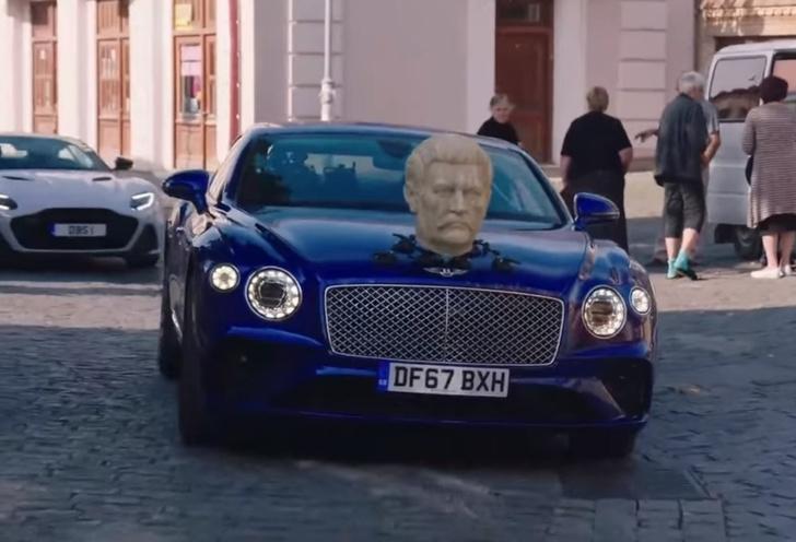 Фото №1 - Тот самый эпизод Grand Tour с «отрезанной головой Сталина» на капоте. Видео на русском