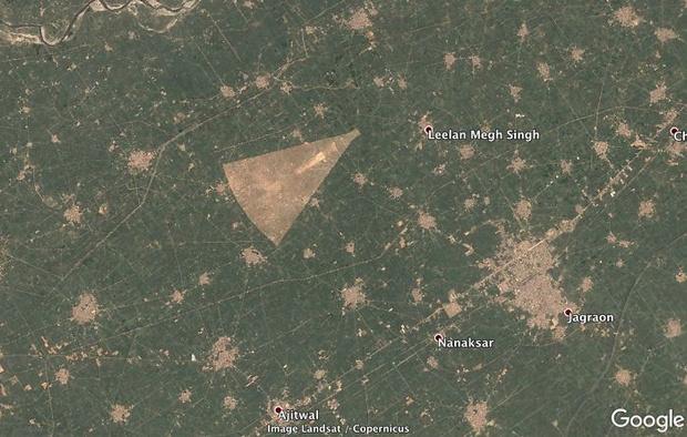 Фото №6 - 20 необычных мест, найденных на Google Earth