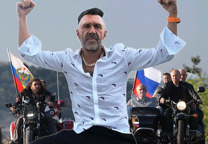 Фото №1 - Шнур посвятил стихи юбилею байк-шоу с участием Путина и Хирурга