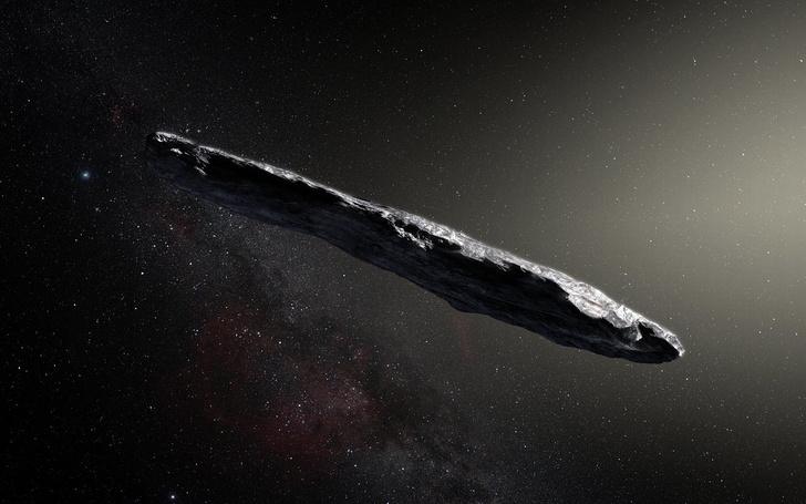 Фото №1 - Последнее исследование ученых из Гарварда утверждает, что метеорит Оумуамуа — инопланетный зонд
