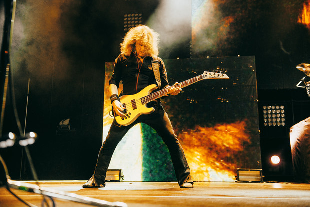 Фото №32 - Megadeth подняли температуру в Москве — посмотри и приобщись!