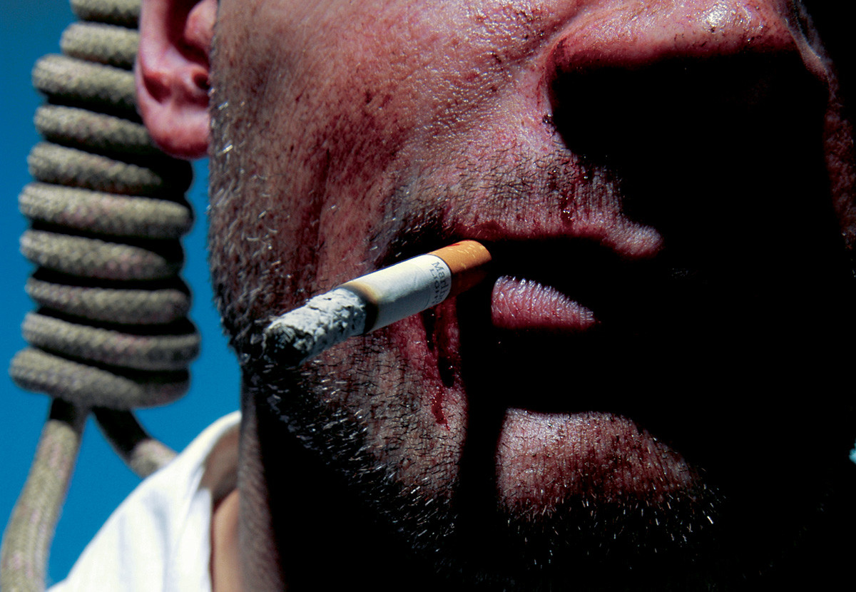 Секс с курящим человеком вредно