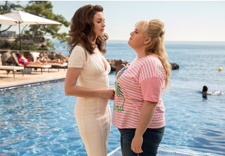 Энн Хэтэуэй учит Ребел Уилсон обманывать мужчин в комедии «Отпетые мошенницы»