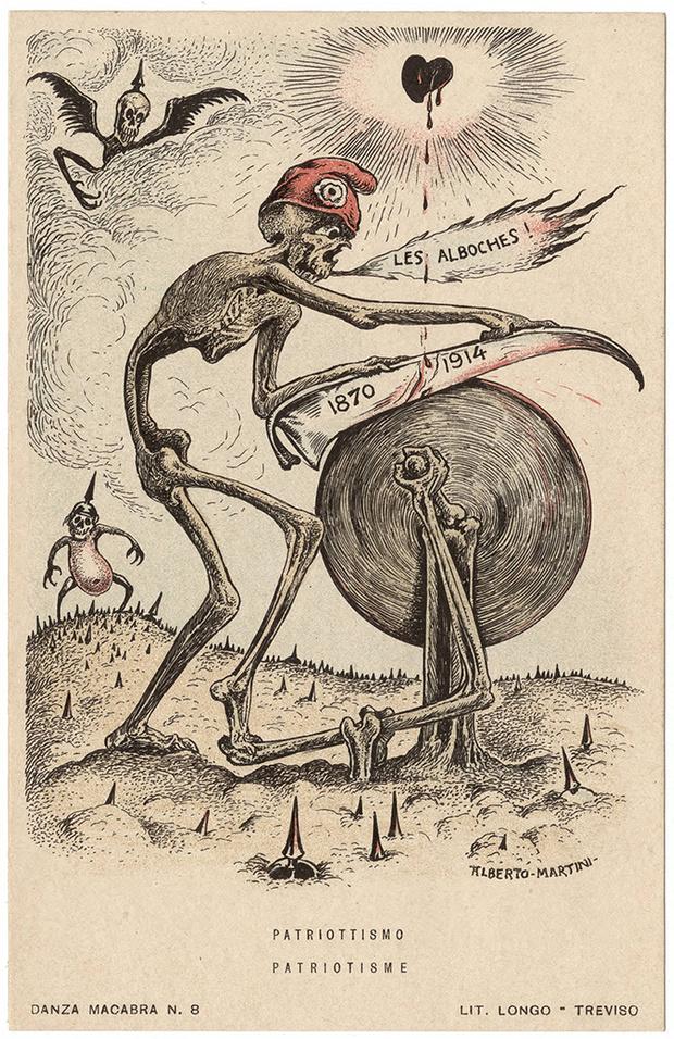 Фото №49 - Жутковатые карикатуры Первой мировой