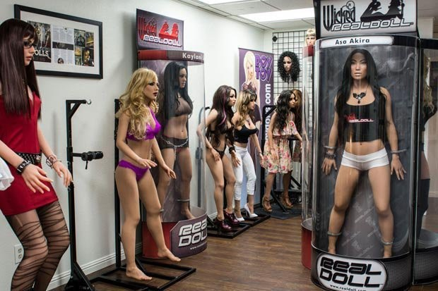 Японские секс роботы девушки