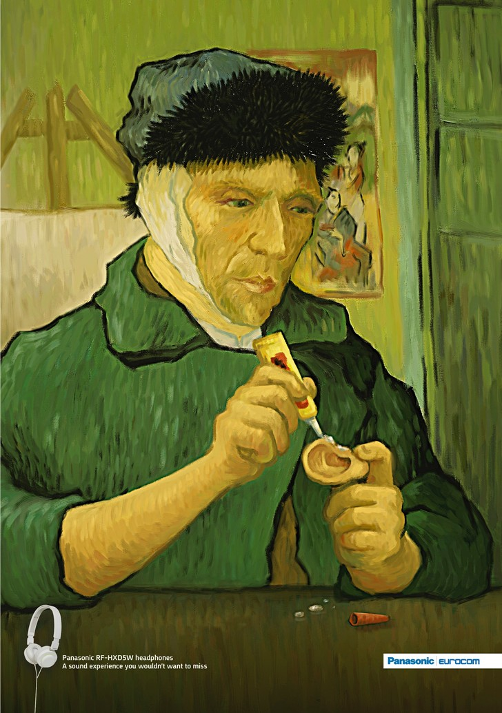Фото №8 - 13 фотожаб, вдохновленных Ван Гогом