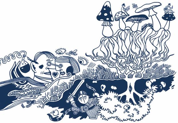 Постмодерн — это грибница