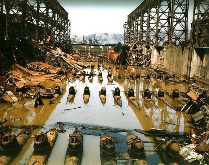 Фото №3 - Подводные торпеды для смертников и еще 4 поразительные фотографии с войны