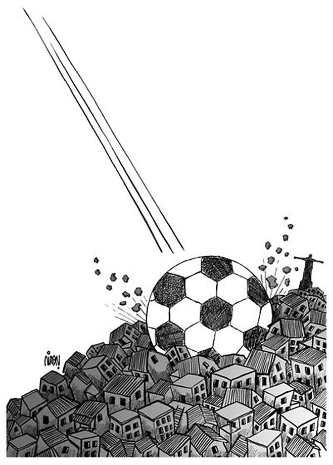 Фото №18 - Пенальти разных широт: коррупция ФИФА глазами иностранных карикатуристов