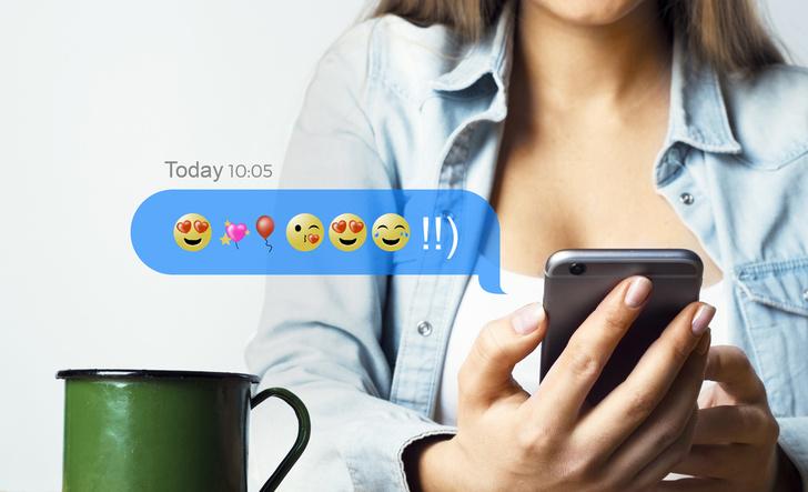 Фото №1 - Новое приложение, которое помогает переводить сообщения на язык эмодзи!